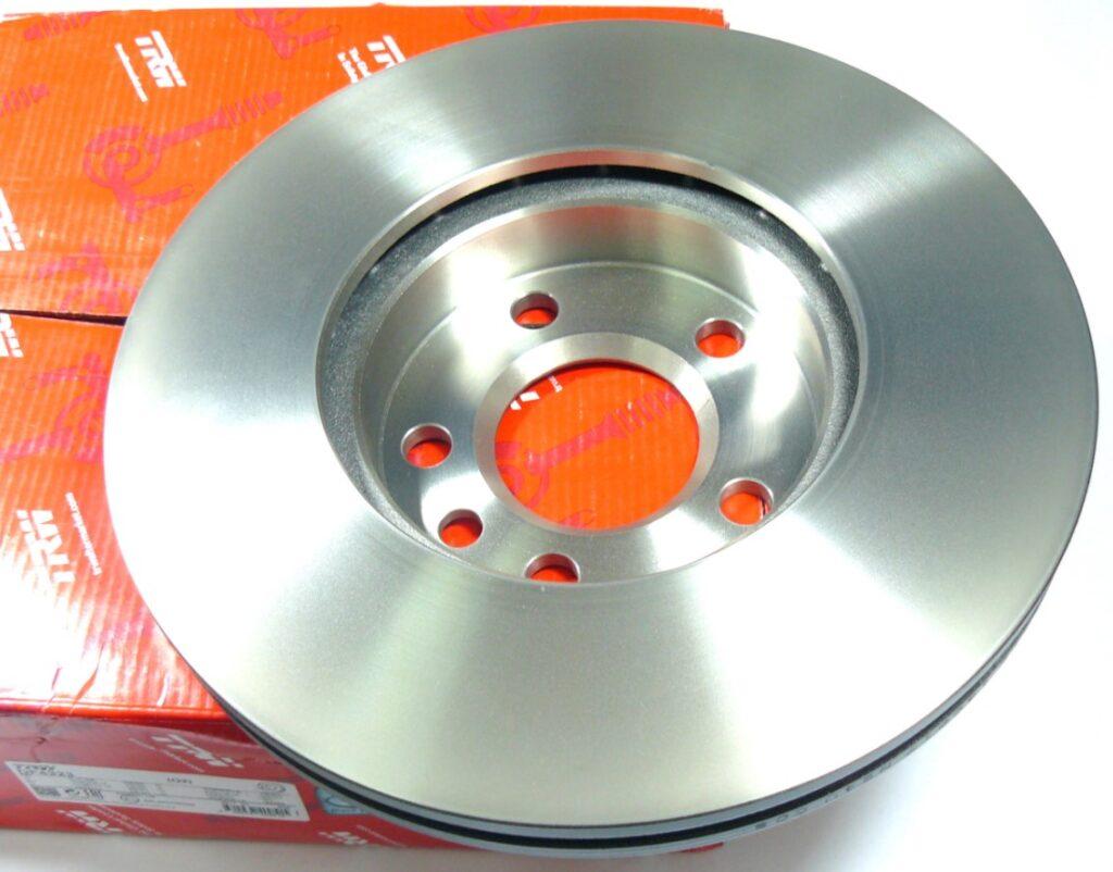 Монолитный тормозной диск