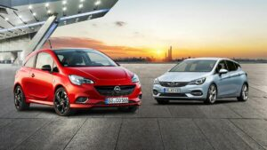 Opel Astra и Opel Corsa