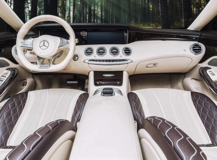 Салон автомобиля Mercedes