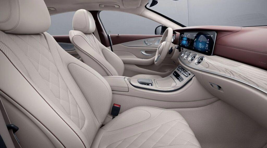 Кожанный салон Mercedes