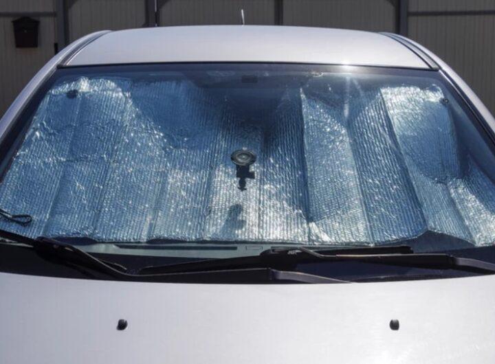 Экран для защиты от перегрева салона авто