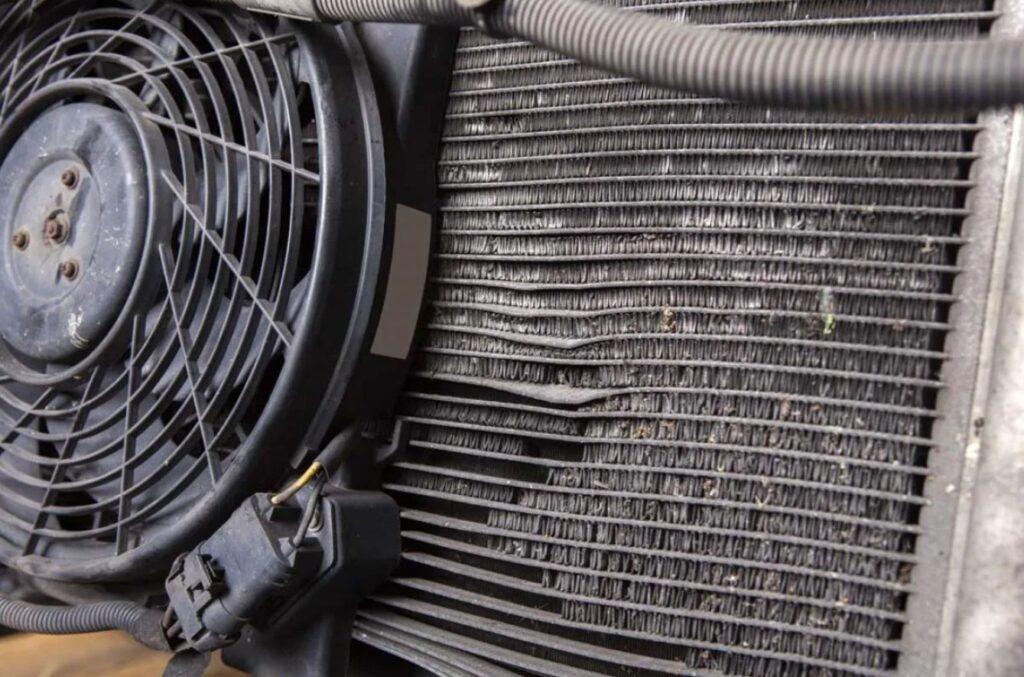 Чистка радиатора