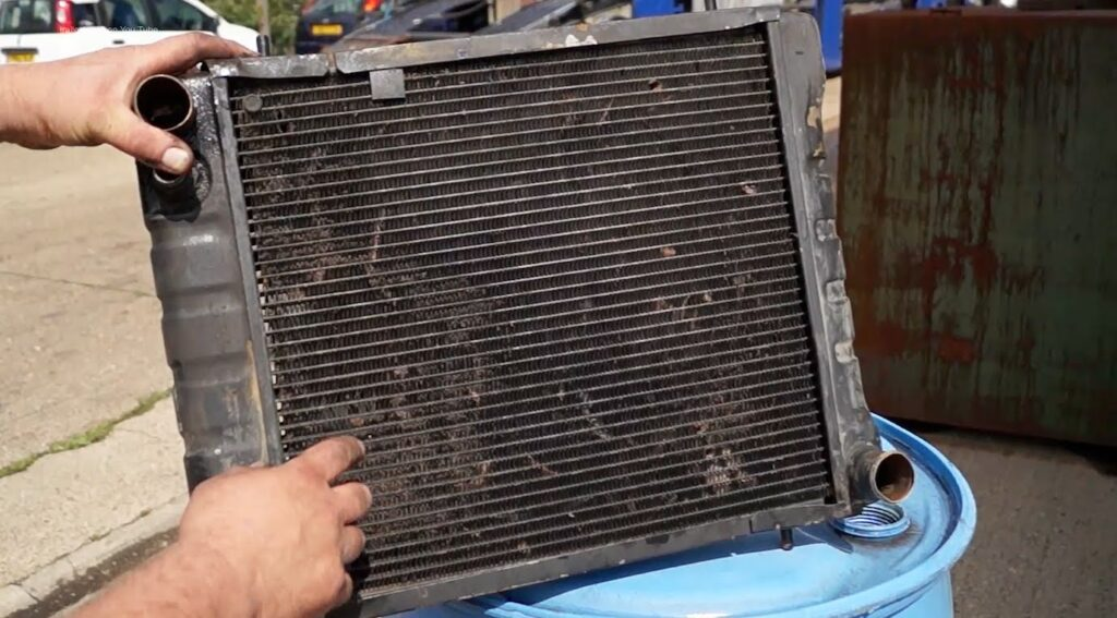 Чистка радиатора своими руками