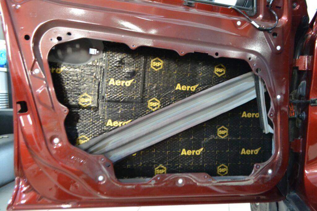 Материал для шумоизоляции автомобиля