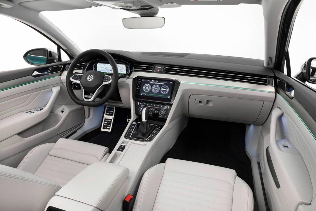 Салон Volkswagen Passat 2.0 TDI BiTurbo