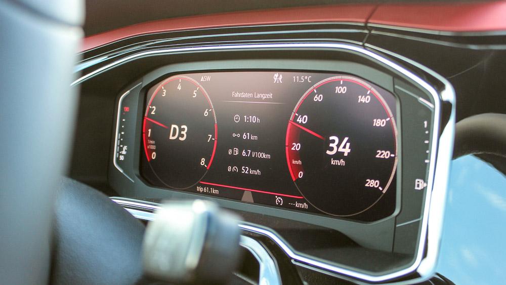 Volkswagen Polo GTI (2017-2020) приборная панель