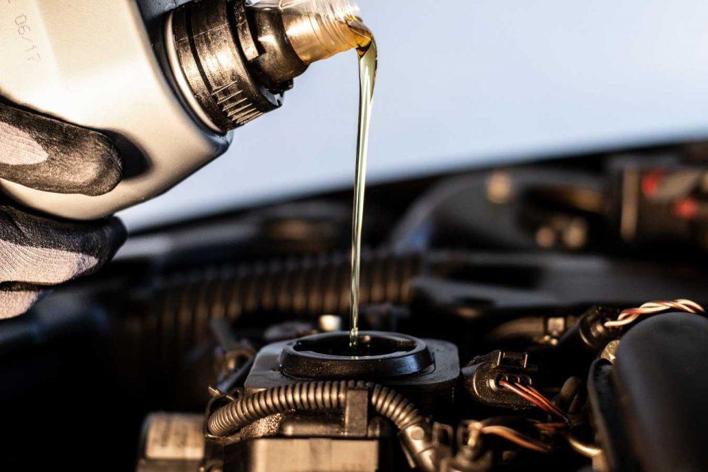 масло для мотора
